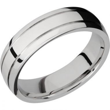 Lashbrook Cobalt Chrome 6mm Men's Wedding Band