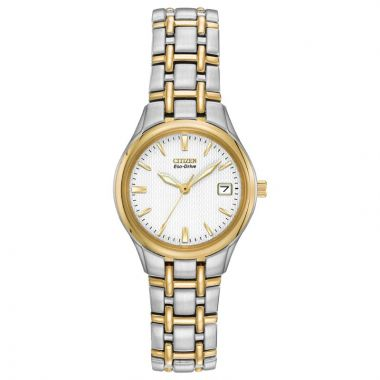 Citizen Eco-Drive Corso Stainless Steel Two-Tone 25mm Women's Watch