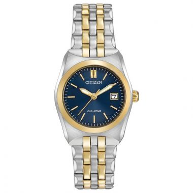 Citizen Eco-Drive Corso Stainless Steel Two-Tone 28mm Women's Watch