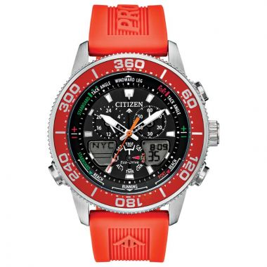 Citizen Eco-Drive Top of Water Polyurethane Men's Sailing Watch