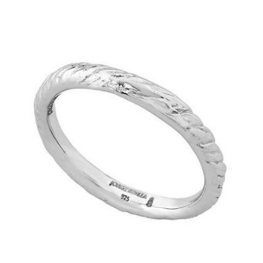 Jorge Revilla 925 Rope Ring in White