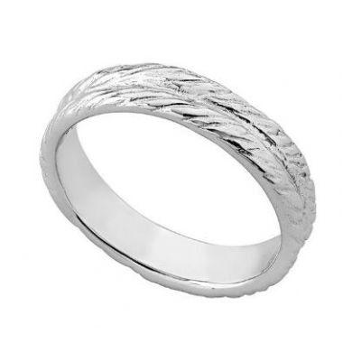 Jorge Revilla 925 Rope Ring in Rose