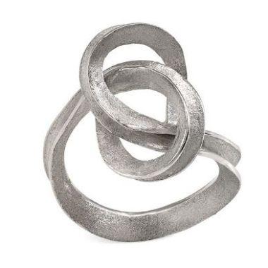 Jorge Revilla 925 Sterling Silver Fashion Ring