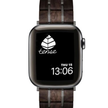 Tense Apple Watch Band Leadwood/Black 38-40mm