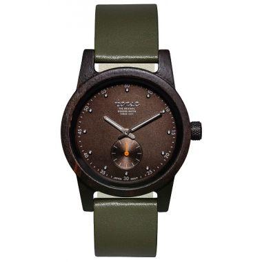 Gents Hampton North Dark Sandal Wood Tense Watch