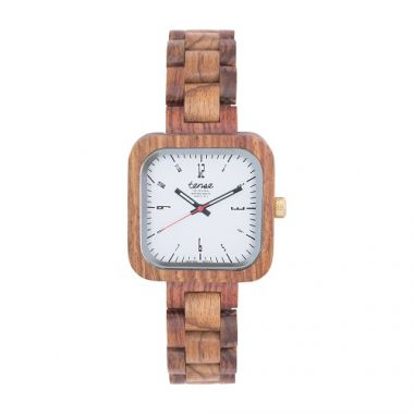 Gents Labrador-Teak Tense Wooden Watch