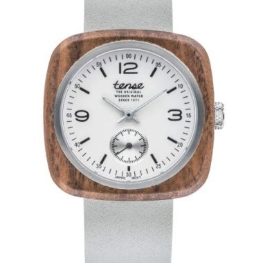 Tense Robson Walnut/Light Great Wooden Watch