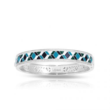 Belle Etoile Forma Blue Bangle