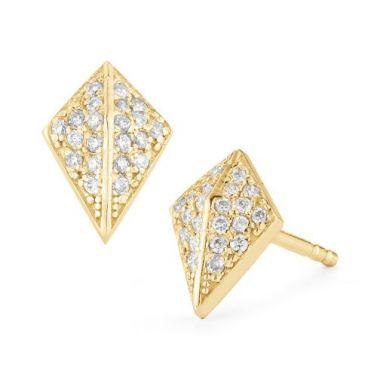 Barbela Diamond Knight Earrings