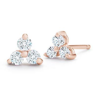 Barbela Rio Earrings-Rose
