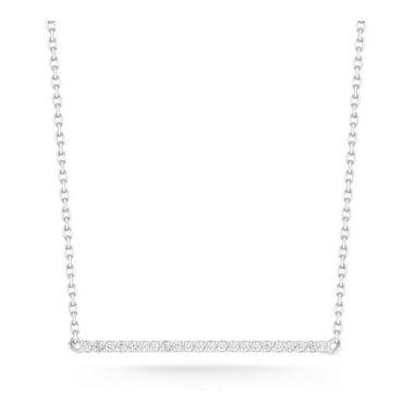 Barbela Diamond Bar Necklace