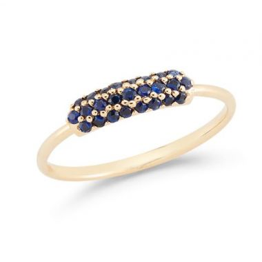 Barbela Sapphire Cole Ring