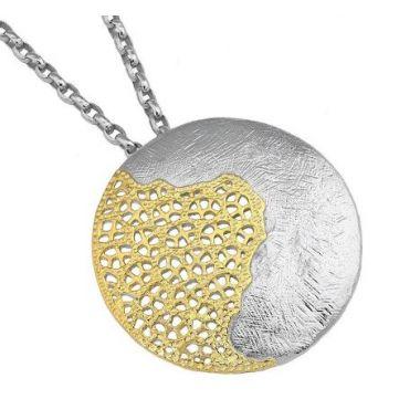 Jorge Revilla 925 Sterling Silver Fashion Pendant