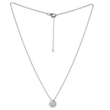 Sterling Silver Jorge Revilla Diamond Fashion Necklace