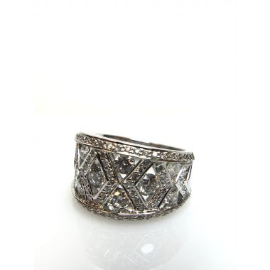 18k White Gold Diamond Ring (2.00ctw)
