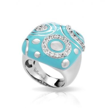 Belle Etoile Galaxy Turquoise Ring