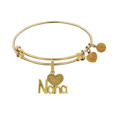 Brass with Yellow Nana Charm for Angelica Bangle