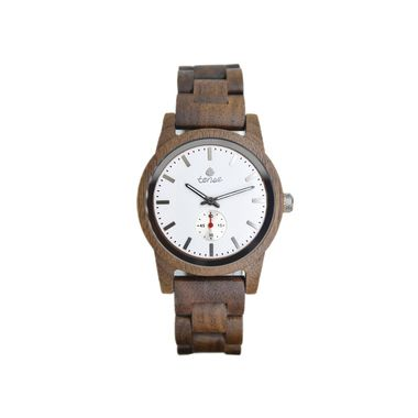 Hampton Walnut White Dial