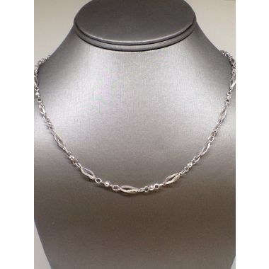 14k White Gold Estate Fashion Necklace