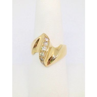 14k Yellow Gold Diamond Estate Ring (.25ctw)