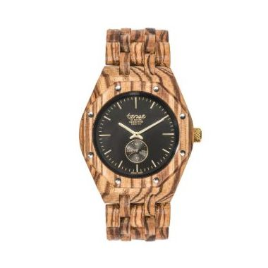 "Tense ""Washington North"" Gents Wooden Watch"