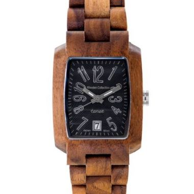 Timber Walnut/Black Tense Watch