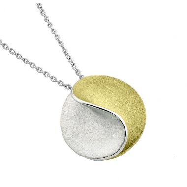 Jorge Revilla Sun Yellow/White Modern Fashion Pendant