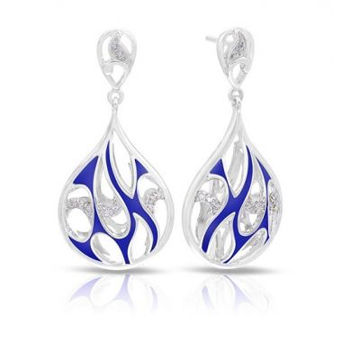 Belle Etoile Marea Blue Earrings