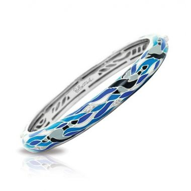Belle Etoile Constellations: Migration Blue & Gray Bangle
