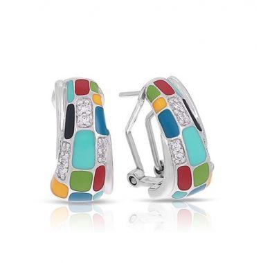 Belle Etoile Mosaica Multicolor Earrings