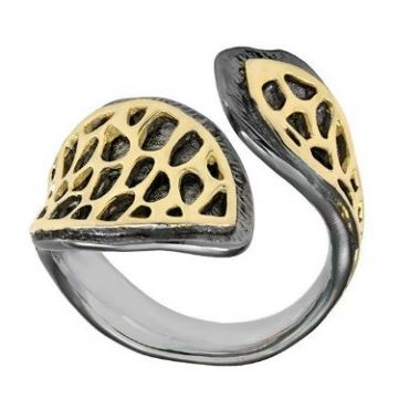Jorge Revilla 925 Sterling Fashion Ring