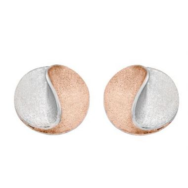 Jorge Revilla Sun Modern Fashion Earring 925/Rose