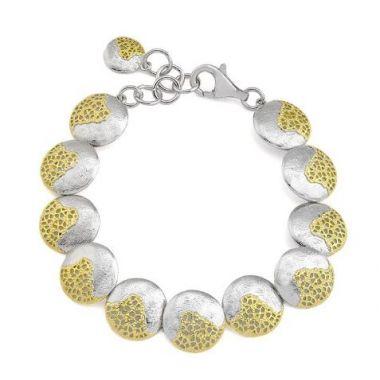 Jorge Revilla 925 Treasure Bracelet 18k Finish
