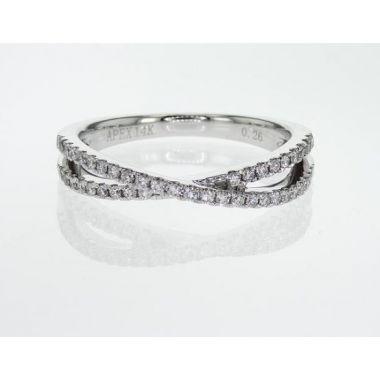 14k White Gold Diamond Ring (.28ctw)