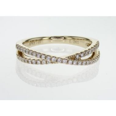 14k Yellow Gold Diamond Ring (.28ctw)