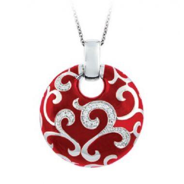 Belle Etoile Royal Red Pendant