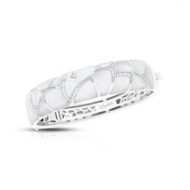 Belle Etoile Sierna M.O.P. White Bangle