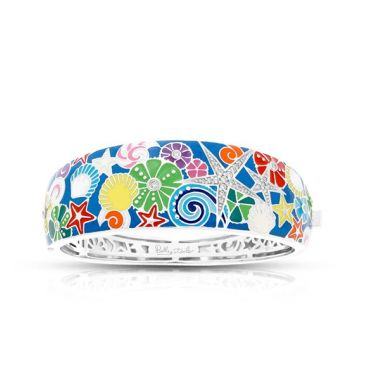 Belle Etoile Starfish Royal Blue Bangle