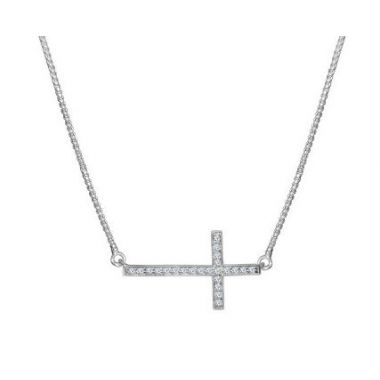 ALBA NECKLACE CZ TIMELESS