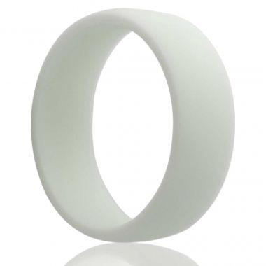 White Silicone Ring