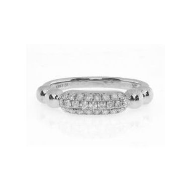 18k White Gold Diamond Fashion Ring (.30ctw)