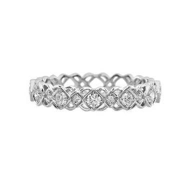 18k White Gold Diamond Fashion Ring (.25ctw)
