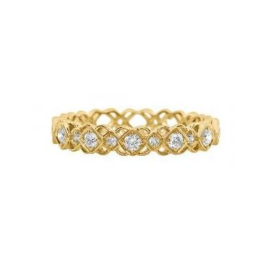 18k Yellow Gold Diamond Fashion Ring (.25ctw)