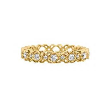 18k Yellow Gold Diamond Fashion Ring (.25ctw)